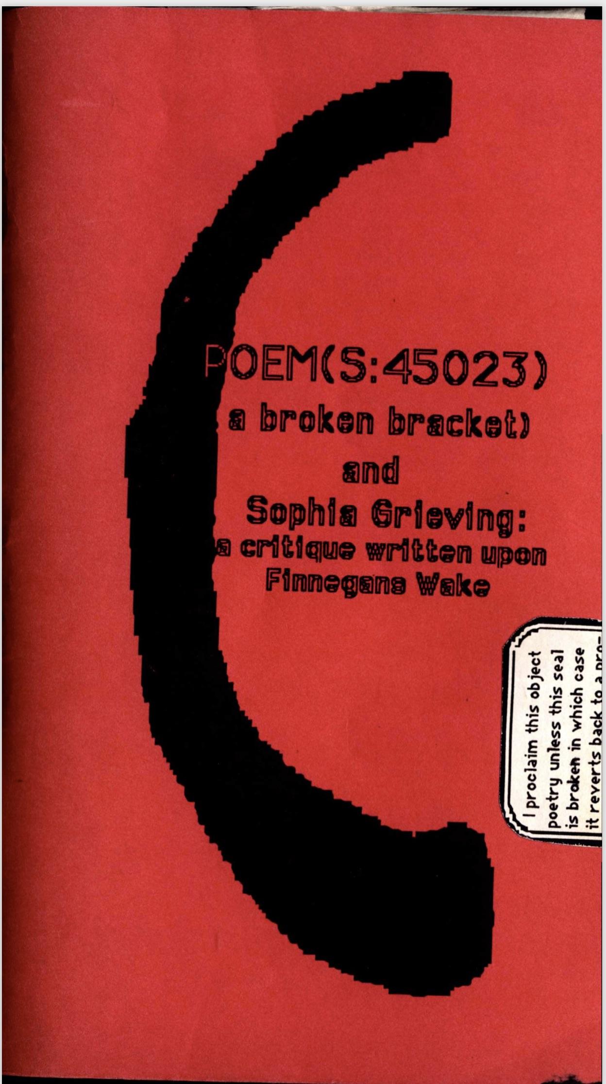 Poems(S_45023)